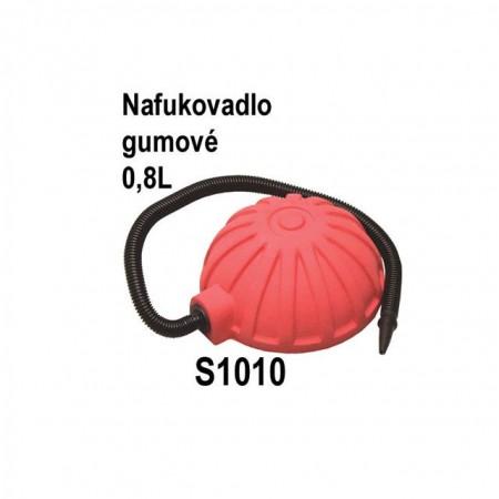 Šlapací nafukovadlo na nafukovací výrobky 0,9 L, gumové