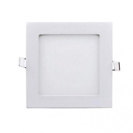 Podlhledové LED světlo do interiéru 6 W, čtvercové, 12x12 cm