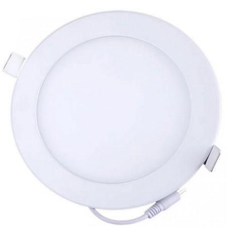 Podlhledové LED světlo do interiéru 18 W, čtvercové, průměr 22,5 cm