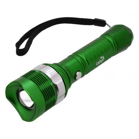 Ruční LED svítilna se zoomem, na baterie, voděodolná (IP44), 150 lm