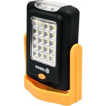 Přenosná SMD LED svítilna s magnetem, na baterie