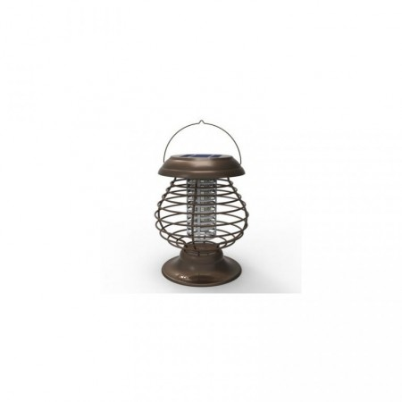 Elektronická mucholapka - lapač hmyzu venkovní / vnitřní, dobíjecí baterie