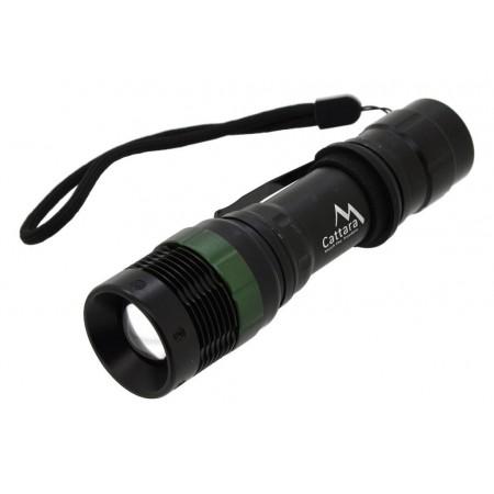 Malá kapesní baterka / svítilna s LED diodou, zoom, IP44, 150lm