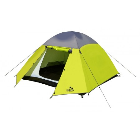 Turistický stan kupole pro 3 osoby, dvouplášťový, 210x210x110cm