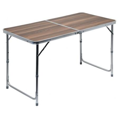 Kempinkový skládací stůl v kufříku, hliník / umakart, 120x60x66cm