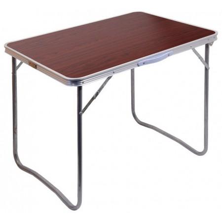 Kempinkový skládací stůl v kufříku, hliník / umakart, 80x60x66cm