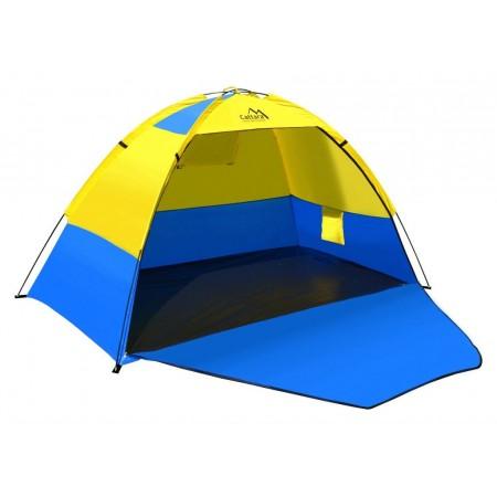 Plážový stan s otevřenou čelní stěnou, 200x120x120cm