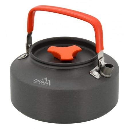 Outdoorová konvice na oheň 1,1 L, anodizovaný hliník