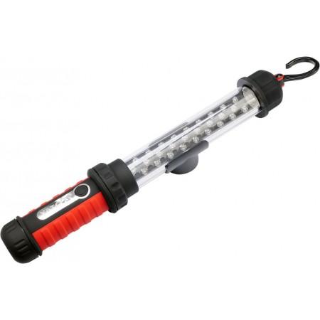 Nabíjecí svítilna do dílny s LED diodami, háček, magnet, vč. nabíječky