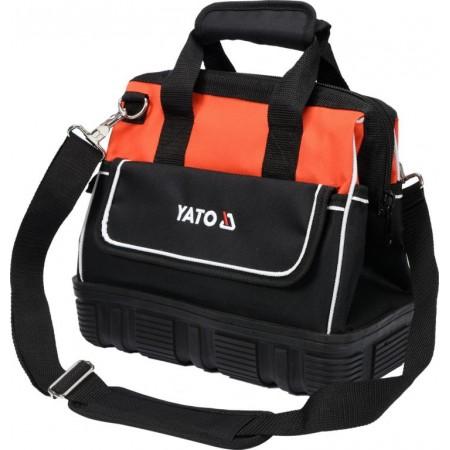 Menší textilní odolná taška na nářadí, popruh přes rameno, 33x25x20cm
