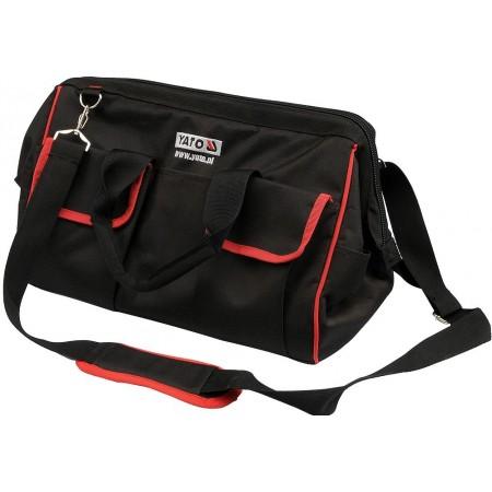 Montérská taška na nářadí s popruhem přes rameno, 40x23x25cm