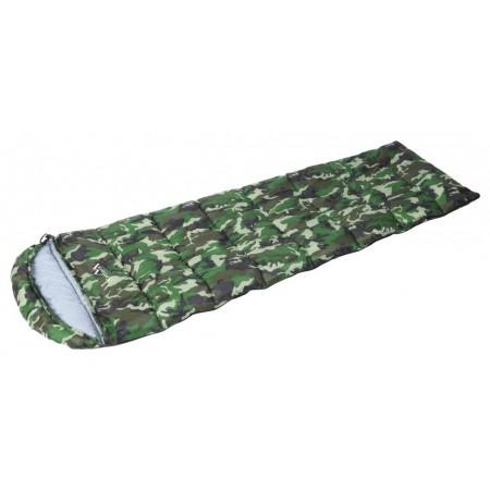 Dekový spací pytel army s maskáčovým vzorem, 5°C
