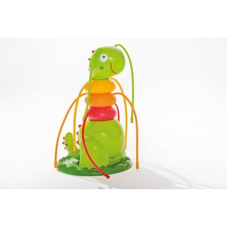 Dětská zahradní sprcha ve tvaru housenky, plast, 27 cm