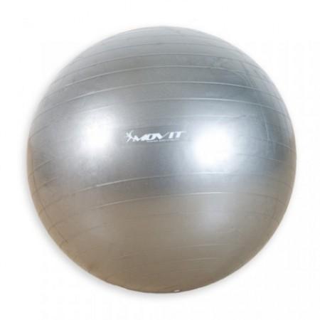 Gymball - gymnastický a relaxační míč 65 cm. stříbrný