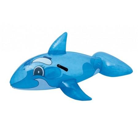 Dětské nafukovací zvířátko na vodu- velryba modrá, 157cm