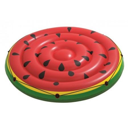 Kulaté nafukovací lehátko do bazénu, kulaté, motiv meloun, průměr 188cm