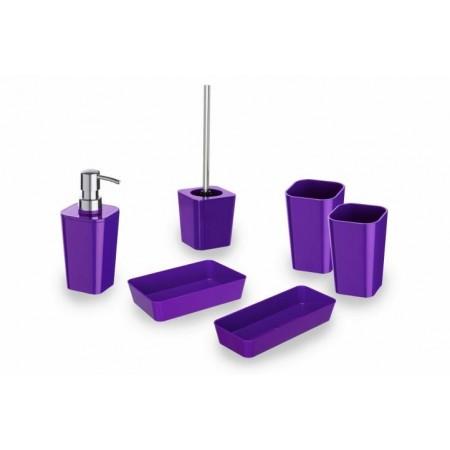 Designová sada do koupelny Candy purple (fialová)