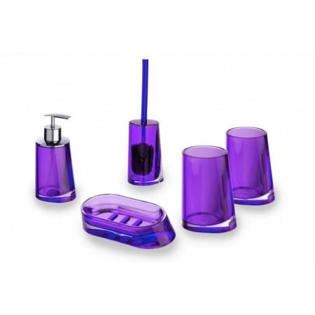 Luxusní designová sada do koupelny Paradise purple (fialová)