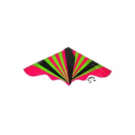 Létající drak pro děti i dospělé pestrobarevný, plast, 120x61 cm