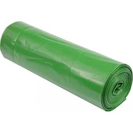 Pytle na odpad 120 L, zelené, 70x110cm