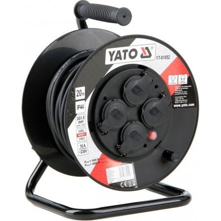 Prodlužovací kabel na navíjecím bubnu extra odolný- IP 44, 16 A, 20 m