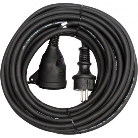 Odolný prodlužovací kabel s gumovou izolací IP 44, 16 A, 20 m