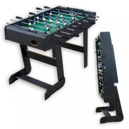 Skládací stolní fotbal se zkosenými rohy, 121 x  101 x  79 cm