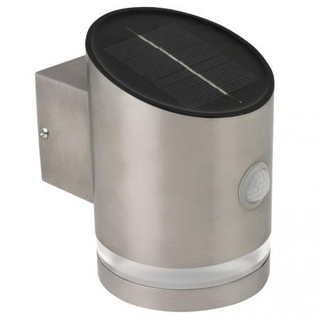 Solární nástěnná bodová lampa s detektorem pohybu 12,5 cm