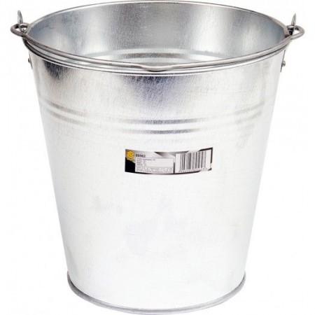 Kovový kbelík pozinkovaný 15 L