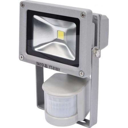 Reflektor LED venkovní / vnitřní s pohybovým čidlem, 10 W, 700 lm
