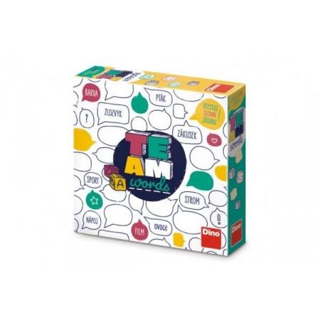 Desková hra pro děti i dospělé Team words, krabice 24x24x6cm