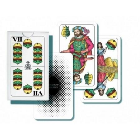 Mariáš dvouhlavý 32 karet v krabičce