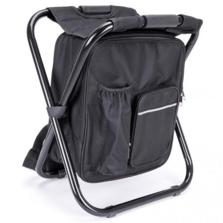 Batoh se stoličkou černý