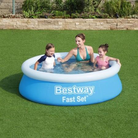 Dětský nafukovací bazén nadzemní samostavěcí, 183x51 cm