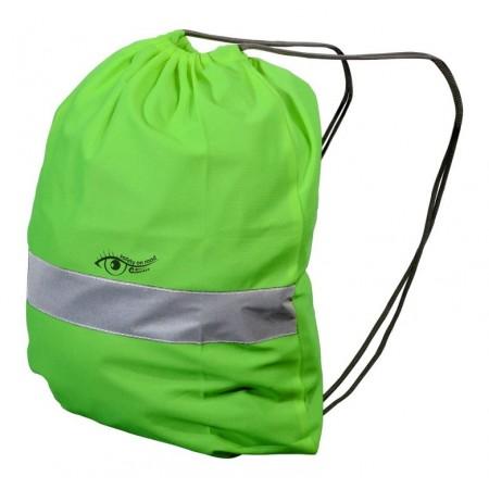 Reflexní batoh / vak zelený