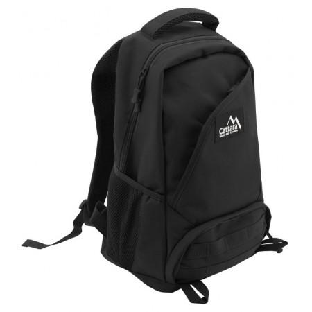Turistický batoh černý, 30 L, 7 kapes