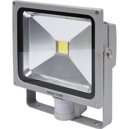 Reflektor se senzorem pohybu venkovní + vnitřní, LED, 30 W