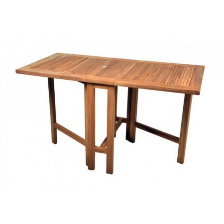 Teakový zahradní skládací stůl, obdélník
