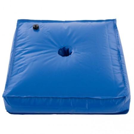 Skládací přenonosný stojan na slunečník- k naplnění vodou, modrý, 78 kg