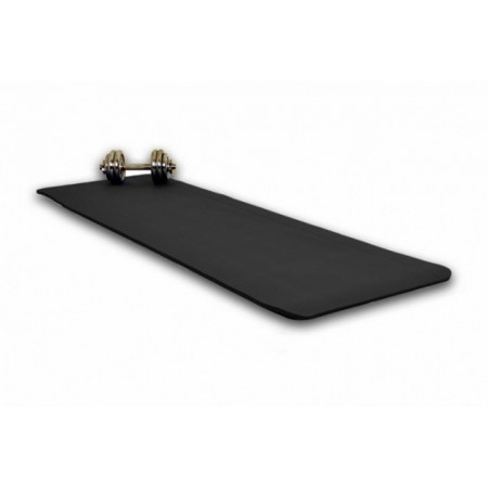 Extra silná pěnvá podložka na jógu a cvičení 190 x 60 x 1,5 cm - černá