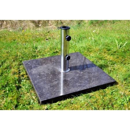 Ozdobný stojan na slunečník, leštěný mramor, 25 kg
