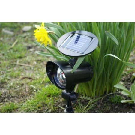 Venkovní solární reflektor, 3 LED diody