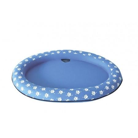 Nafukovací lehátko / bazének pro psy 140x90 cm, modré