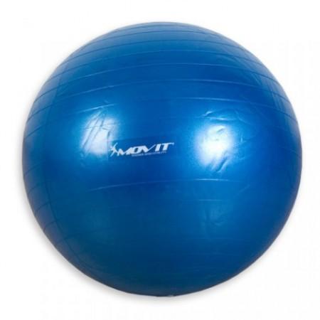 Gymnastický míč pro cvičení a rehabilitace, 65 cm, modrý