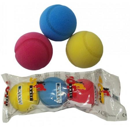 Molitanové míčky na soft tenis 70 mm, 3 ks