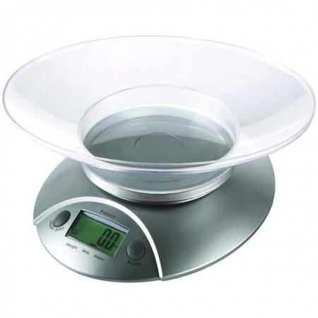 Digitální kuchyňská váha s miskou, přesnost 1g