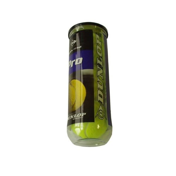 Tenisové míčky Dunlop v dóze, 3 ks
