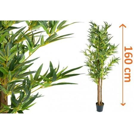 Umělá rostlina - keř, Bambus 160 cm