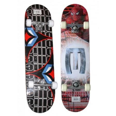 Dětský skateboard se zpevěným podvozkem, ložiska ABEC - 1