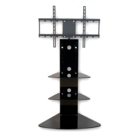 Designový TV stolek s poličami včetně držáku televize